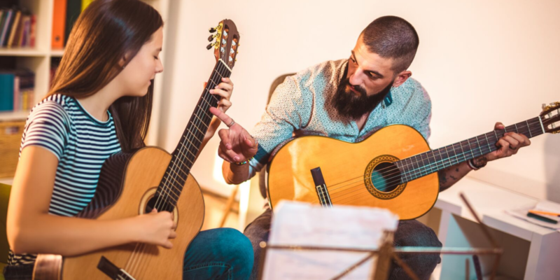 Top banner for Top 10 easy classical guitar songs for beginners post